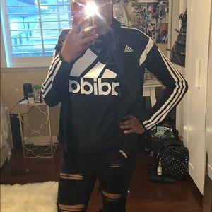 adidas Jackets & Coats - Adidas track black jacket🖤🖤🖤